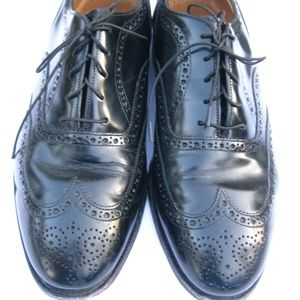 Johnston Murphy Wingtip Oxford Greenwich Black 9.5